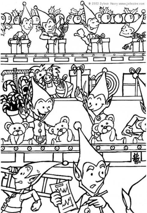 Juletegning Workshoppi