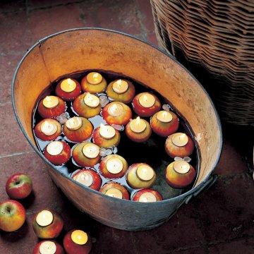 bougies-pommes