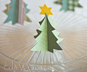 paper-christmas-tree-craft-tutorial