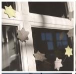 Stjerner i avispapir